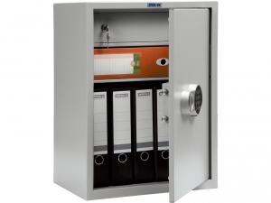 Шкаф металлический бухгалтерский ПРАКТИК SL-65Т EL купить на выгодных условиях в Саратове