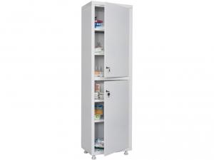 Металлический шкаф медицинский HILFE MD 1 1657/SS купить на выгодных условиях в Саратове
