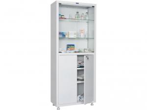 Металлический шкаф медицинский HILFE MD 2 1670/SG купить на выгодных условиях в Саратове