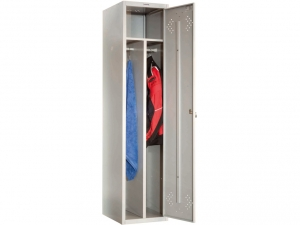 Шкаф металлический для одежды ПРАКТИК LS(LE)-11-40D купить на выгодных условиях в Саратове