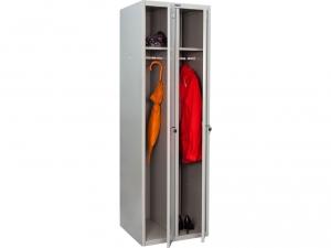 Шкаф металлический для одежды ПРАКТИК LS(LE)-21 купить на выгодных условиях в Саратове