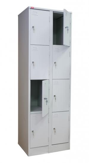 Шкаф металлический для сумок ШРМ - 28 купить на выгодных условиях в Саратове