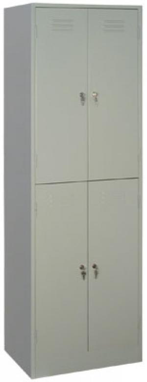 Шкаф металлический для одежды ШРМ - 24 купить на выгодных условиях в Саратове