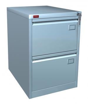 Шкаф металлический картотечный КР - 2 купить на выгодных условиях в Саратове