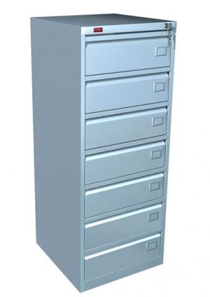 Шкаф металлический картотечный КР - 7 купить на выгодных условиях в Саратове