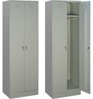 Шкаф металлический для одежды ШРМ - 22/800 купить на выгодных условиях в Саратове