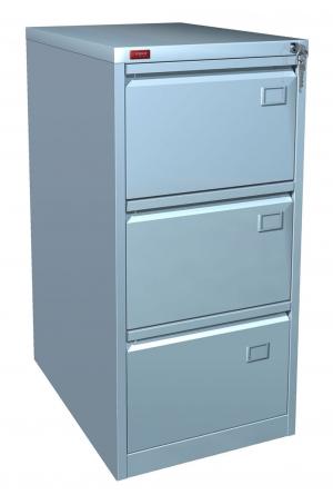 Шкаф металлический картотечный КР - 3 купить на выгодных условиях в Саратове