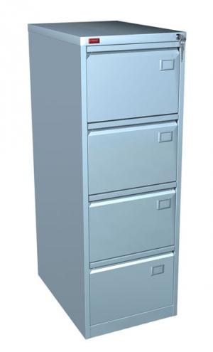 Шкаф металлический картотечный КР - 4 купить на выгодных условиях в Саратове