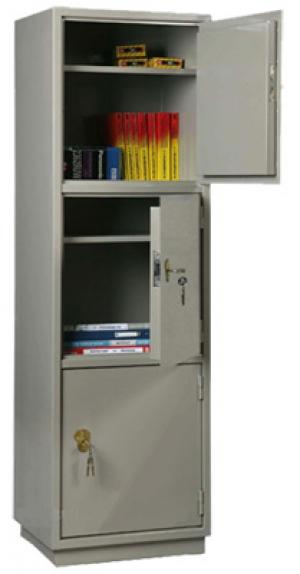 Шкаф металлический для хранения документов КБ - 033 / КБС - 033 купить на выгодных условиях в Саратове