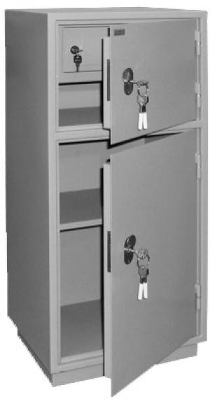 Шкаф металлический бухгалтерский КБ - 042т / КБС - 042т купить на выгодных условиях в Саратове