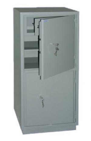 Шкаф металлический бухгалтерский КС-2Т купить на выгодных условиях в Саратове