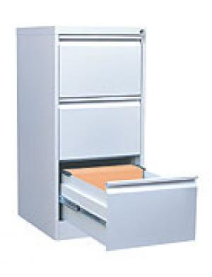 Шкаф металлический картотечный ШК-3 (3 замка) купить на выгодных условиях в Саратове