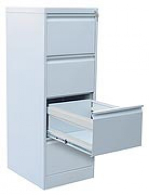 Шкаф металлический картотечный ШК-4 (4 замка) купить на выгодных условиях в Саратове