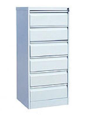 Шкаф металлический картотечный ШК-6(A5) 6 замков купить на выгодных условиях в Саратове