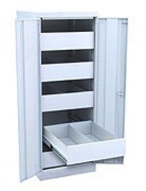 Шкаф металлический картотечный ШК-5-Д2 купить на выгодных условиях в Саратове