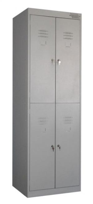 Шкаф металлический для одежды ШРK-24-800 купить на выгодных условиях в Саратове