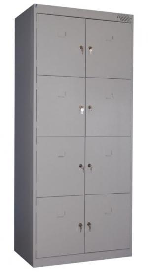 Шкаф металлический для сумок ШРК-28-800 купить на выгодных условиях в Саратове