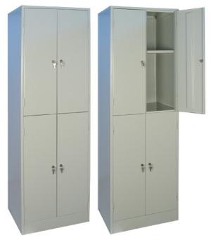 Шкаф металлический для хранения документов ШРМ - 24.0 купить на выгодных условиях в Саратове