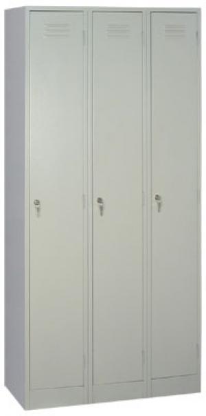 Шкаф металлический для одежды ШРМ - 33