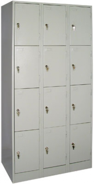 Шкаф металлический для сумок ШРМ - 312 купить на выгодных условиях в Саратове
