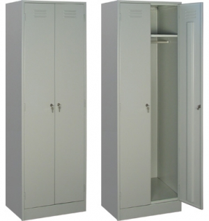 Шкаф металлический для одежды ШРМ - 22/800