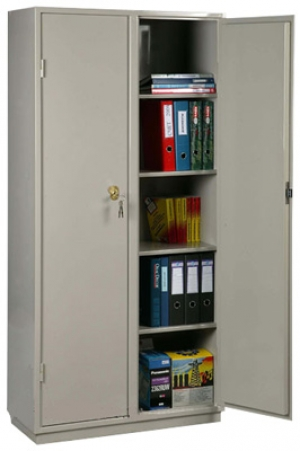 Шкаф металлический для хранения документов КБ - 10 / КБС - 10