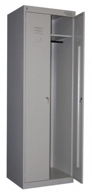 Шкаф металлический для одежды ШРК-22-600 купить на выгодных условиях в Саратове